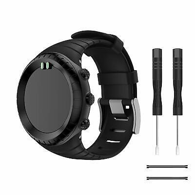 Kit Cinturino di Ricambio in TPU Morbido per Suunto CORE Watch, 140mm-230mm
