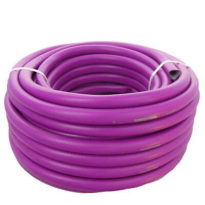 (0,8€/m) 50 Meters 1/2 Inch Water hose HOME Violet Purple Garden hose 25Bar