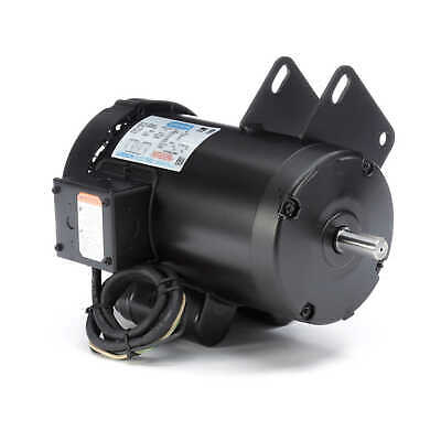 Leeson 120998.00 Electric Saw Motor 4 Hp 3450 Rpm 1-ph 230 Volt 145y Frame
