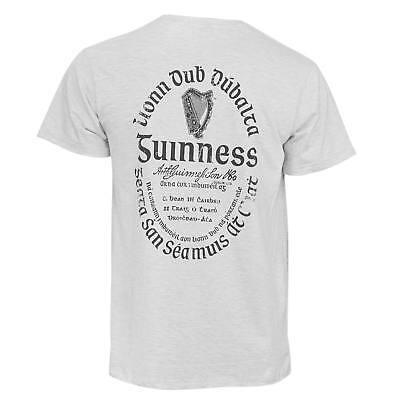 Guinness Label (Guinness Light Gaelic Label Tee Shirt Grey)
