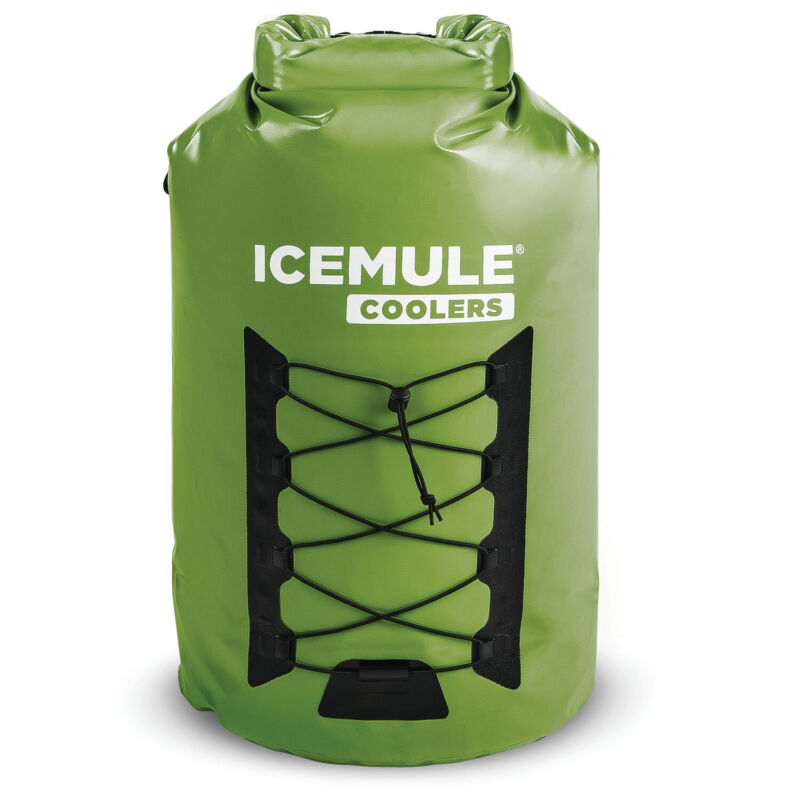 IceMule Pro XLarge 33 Liter 24 Can Soft Waterproof Backpack Cooler Bag(Open Box)