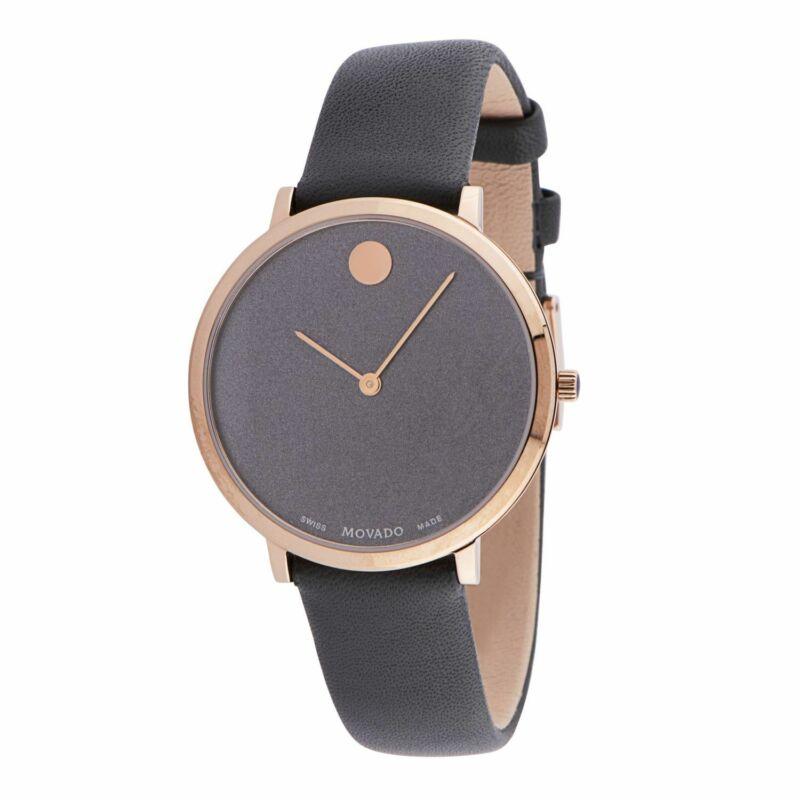 Movado 0607404 Women Modern 47 Grey Quartz Watch