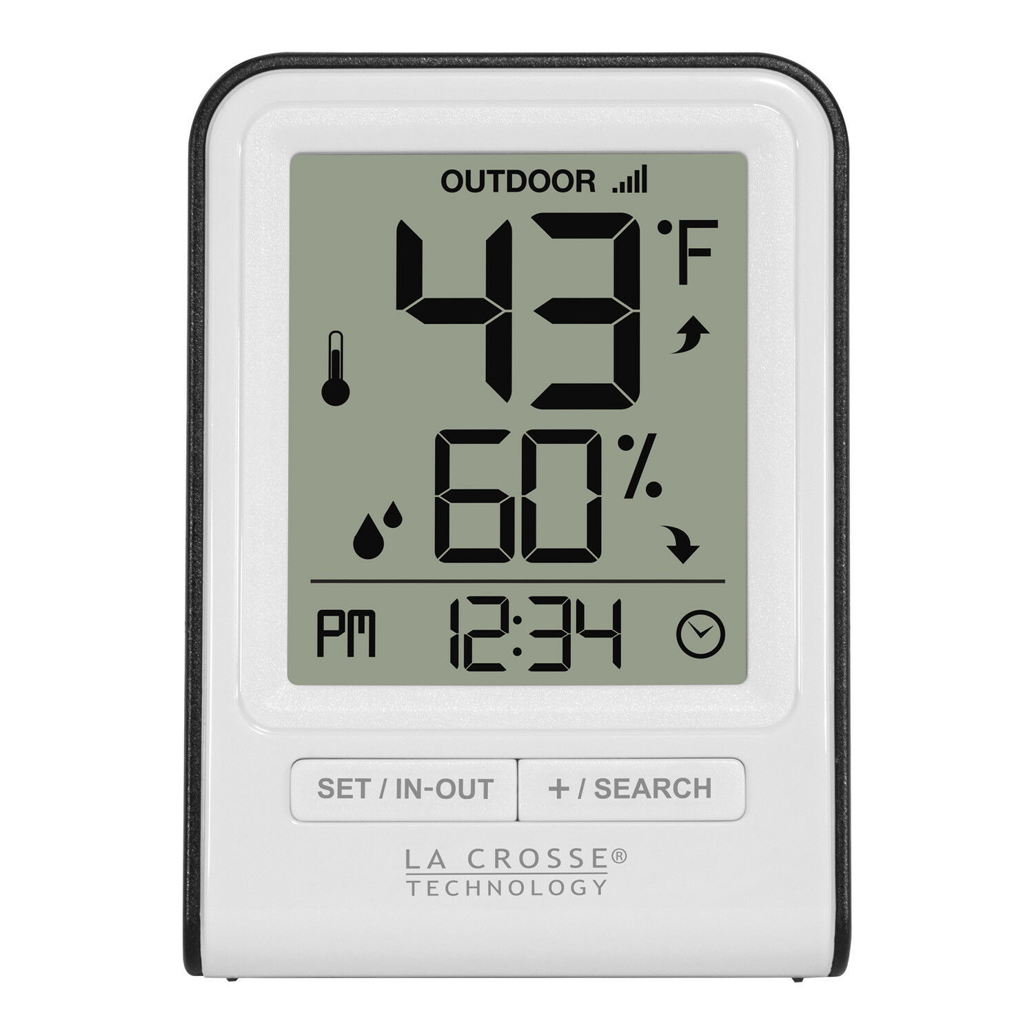 LTV-D1 La Crosse Technology View Temperature & Humidity Display Only