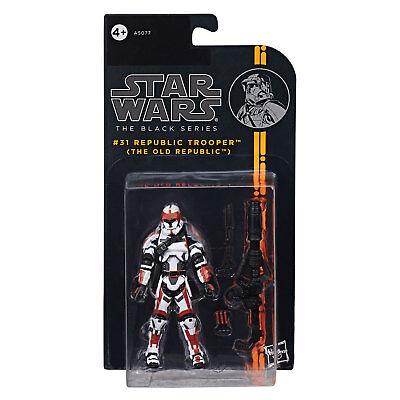 "Star Wars The Black Series 3.75"" #31 REPUBLIC TROOPER (The Old Republic) Figure"