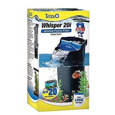 20 Gallon Tank Filter Canister Water Filtration Fish Turtle Reptiles Aquarium