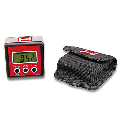 Präzise digitale Wasserwaage, Winkelmesser, bel. Display, bis 0,1° genau, NEU