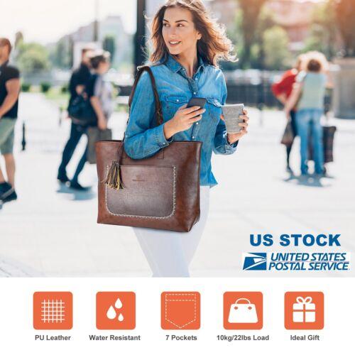 Luxury PU Leather Women Handbag Shoulder Bag Messenger Large