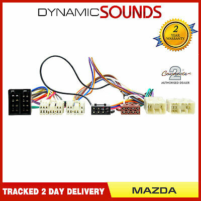SOT-067 ISO Parrot Harness Adaptor Wiring Loom Lead for Mazda CT10MZ01