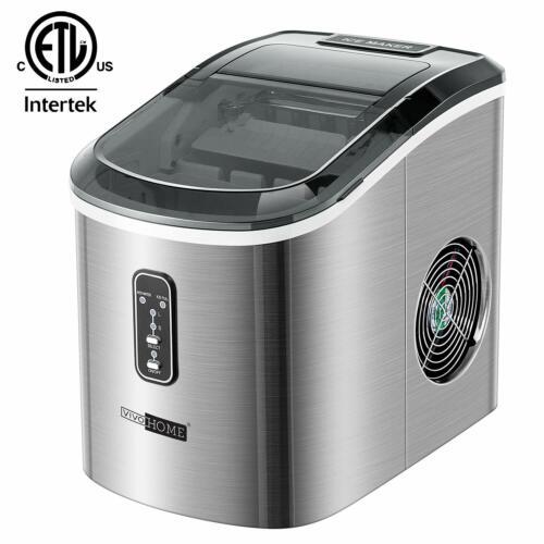 VIVOHOME Steel Electric Portable Compact Countertop Auto Ice