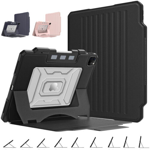 shockproof rugged case magnetic cover for ipad