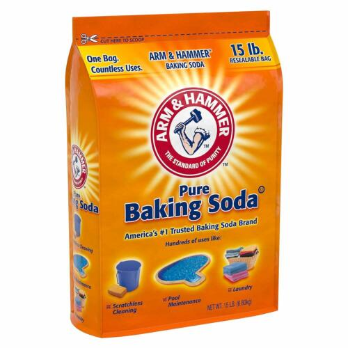 Arm & Hammer Pure Baking Soda 2 Pack of 15 lbs FREE SHIP