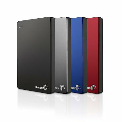 Seagate Backup Plus Slim Portable, externe tragbare Festplatte, USB 3.0, PC 1TB (1 Tb Seagate Portable Festplatte)