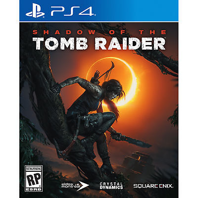 Shadow of The Tomb Raider (PS4, 2018) Brand New Factory Sealed