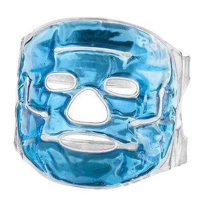 Kühle Gel-augenmaske (Feluna Gel-Gesichtsmaske Wellnessmaske Gelmaske Kühlmaske Maske fürs Gesicht)