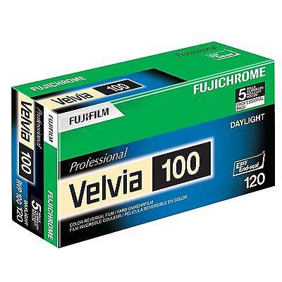 Fuji RVP 120 Fujichrome Velvia 100 Professional Color Slide Film 5 Pack 16326107