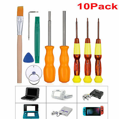 10 in 1 For Nintendo Switch Pro Triwing Screwdriver Set Opening Repair Tools Kit