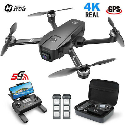 Divine Stone HS720E Foldable GPS Drone with 4K HD Camera RC Quadcopter Follow Me