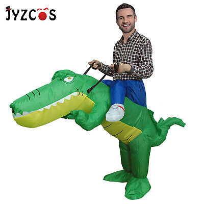 Crocodile Inflatable Costume for Adults Halloween Carnival Party Cosplay Outfits - Halloween Outfits For Adults