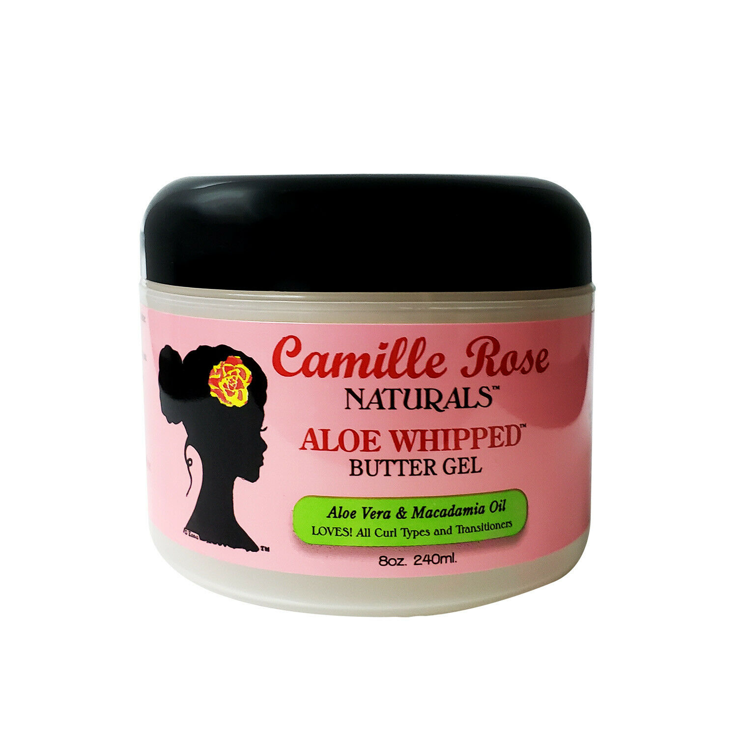 Camille Rose Naturals Aloe Whipped Butter Gel – 8 Oz. Hair Care & Styling