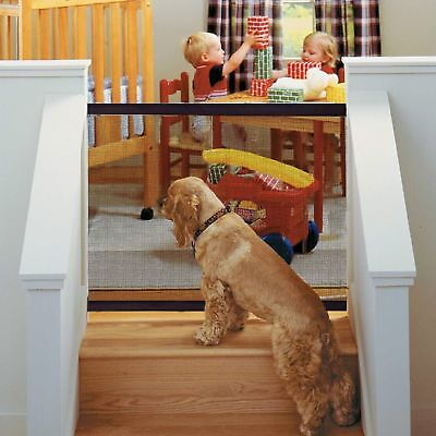 Magic-Gate Portable Safety Guard Mesh Magic Net for Puppy Pets Dog Cat 180*72cm
