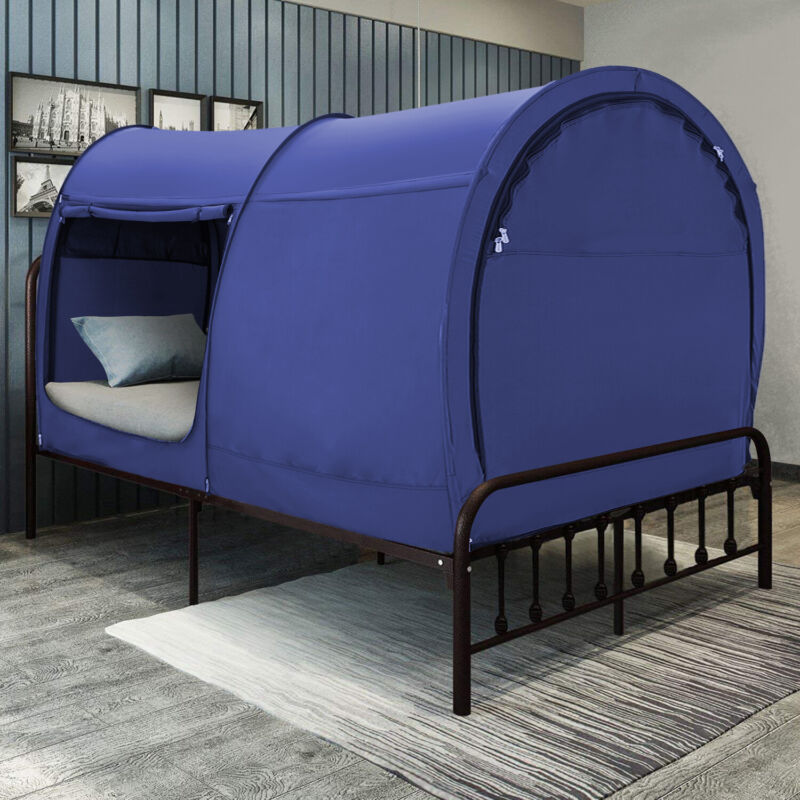 Bed Tent Bed Canopy Tent Privacy Tent Navy