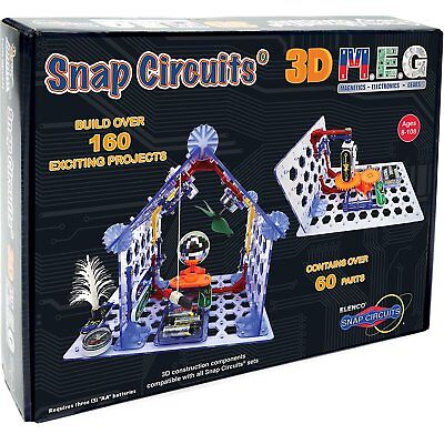 Snap Circuits 3D M E G  Electronics Discovery Kit   Go Vertical