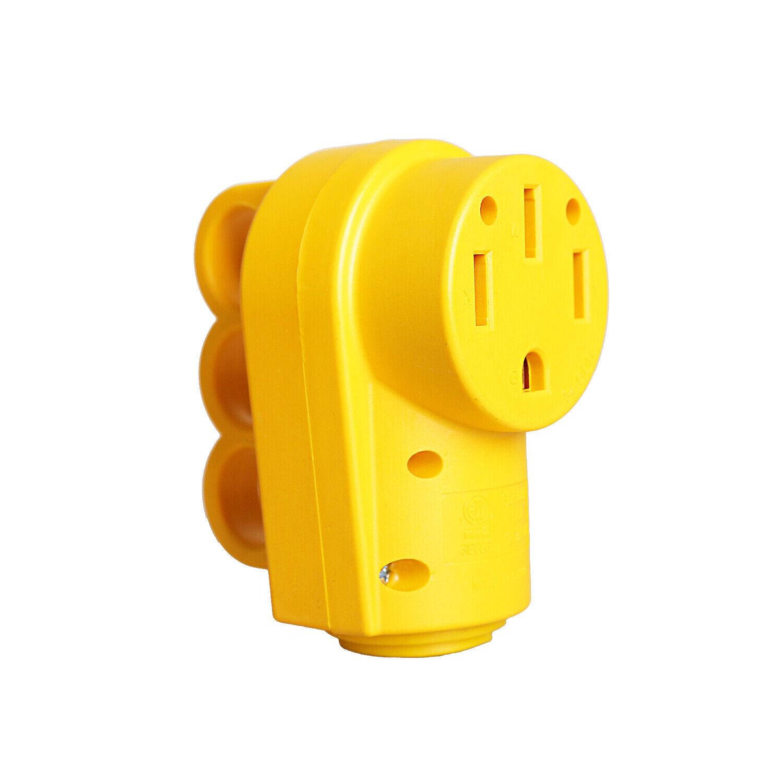 RV 50AMP Replacement Female Plug eBay Motors