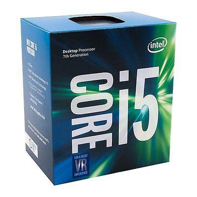 Intel Core i5-7500 Kaby Lake Processor 3.4GHz 8.0GT/s 6MB LGA1151 BX80677I57500