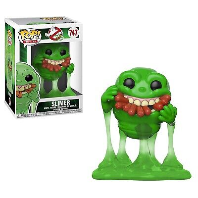 Funko - Pop Filme: Ghostbusters - Slimer mit Hot Hunde Brandneu in Box