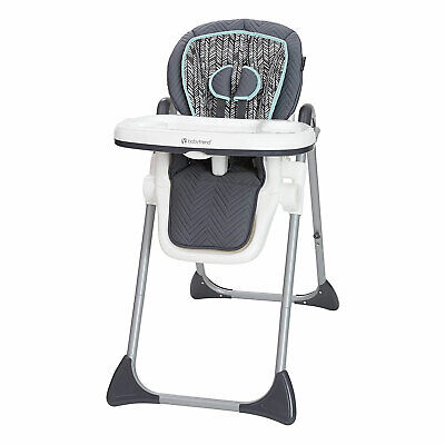 Baby Trend Tot Spot 3 in 1 Portable Infant Baby Feeding High Chair & Tray, Ziggy