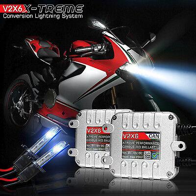 H4 HID Kit WHITE Headlight Conversion 5K Bulb Low/High Beam for Polaris RMK 700