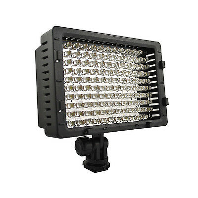 Pro LED video light for Panasonic HPX170 HVX200A 3DA1 HD HDV AVCHD camcorder for sale  Shipping to Canada