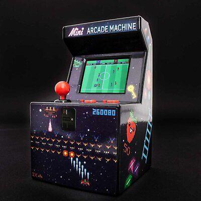 ThumbsUp! Retro Mini Arcade Maschine, 240x16-Bit Spiele, Konsole für unterwegs