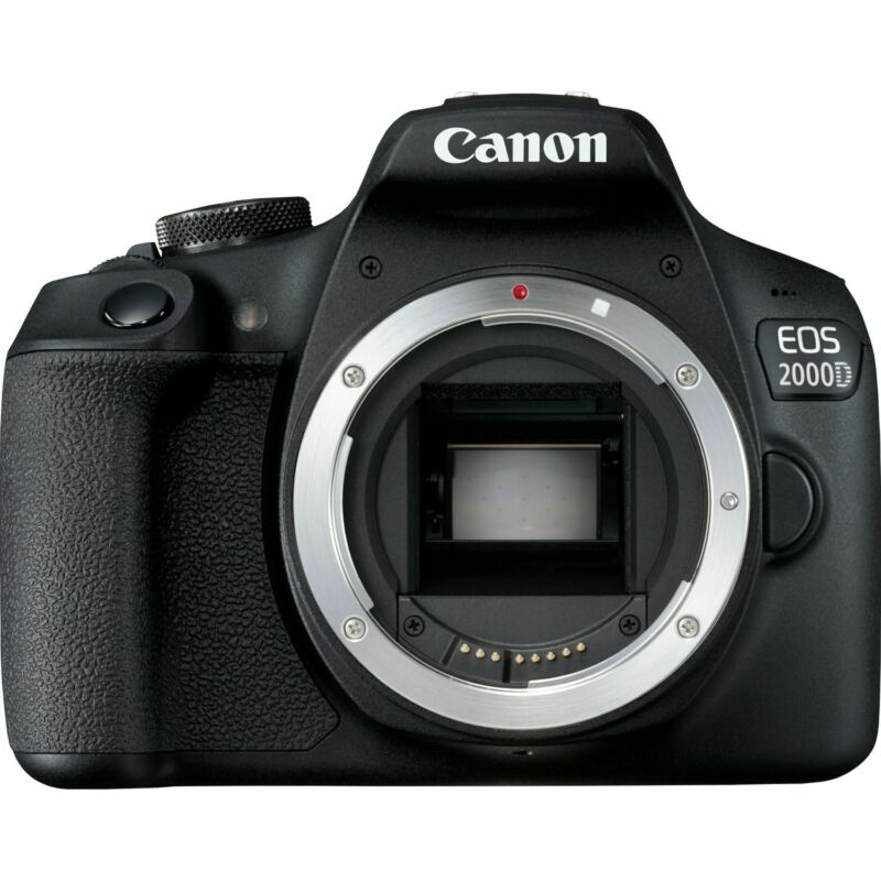 Canon EOS 2000D/Rebel T7 DSLR Camera