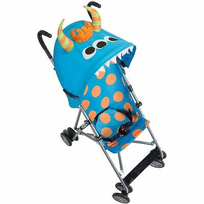 Character Umbrella Stroller With Comfort Lightweight Compact Fold Blue Monster for sale  Shipping to United States