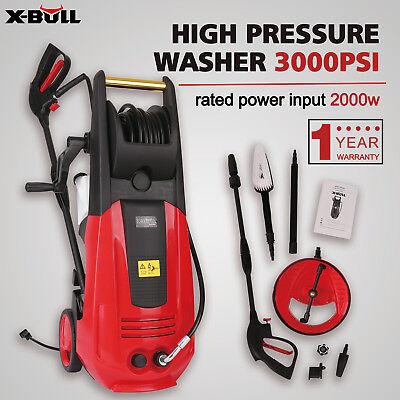 X-BULL High Pressure Washer 3000PSI 2000W 1.6 GPM Sprayer Cleaner