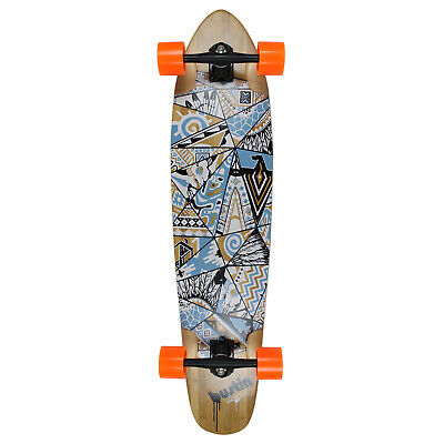 "Bustin Boards Longboard Complete Scout Native Way 9.3"" x 40"" Skateboard"