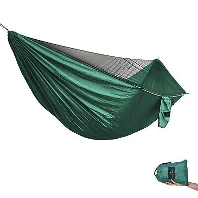 Boundless Voyage Ultralight Outdoor Travel Camping Hammock 2 Person with Mosq...