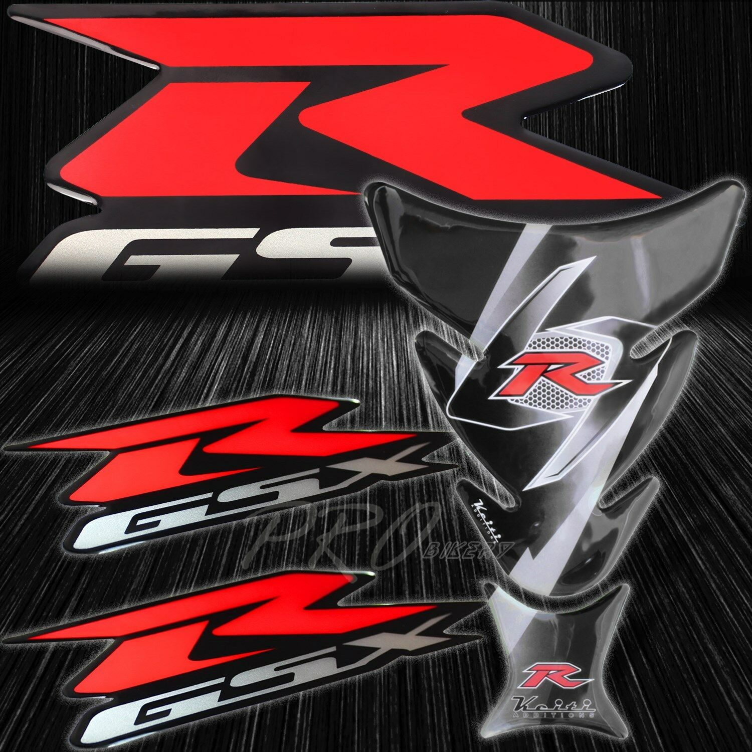 7.5 Real Carbon Fiber Fuel Gas Tank Protector Pad For GSXR GIXXER 750 600 1000
