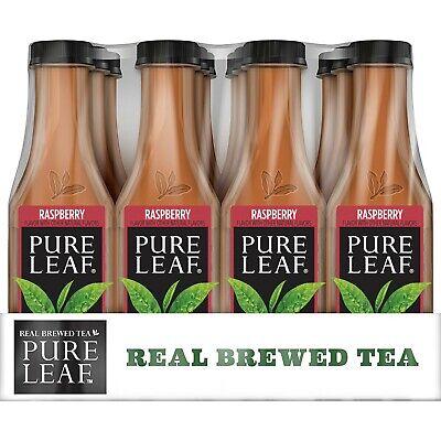 Raspberry Sweetener - Pure Leaf Iced Tea, Raspberry, Sweetened, Real Brewed Black Tea, 18.5 Fl. Oz ...