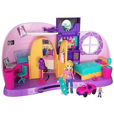 Polly Pocket Go Tiny Room Playset
