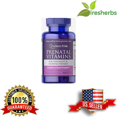 prenatal multi vitamins female pregnancy folic iron