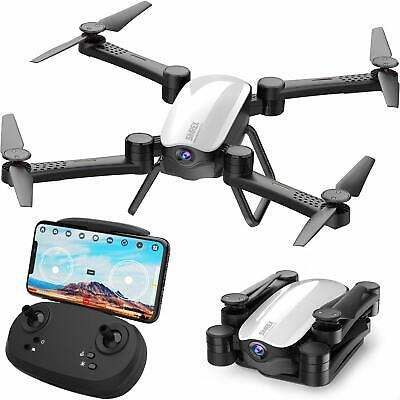 Drone RC Quadcopter FPV with 1080P HD Camera WiFi Foldable Best Gift New Year