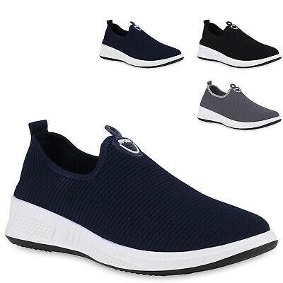 Herren Sportschuhe Slip Ons Strick Sneaker Turnschuhe Slipper 830401 Trendy Neu Herren Schuhe Slip-ons