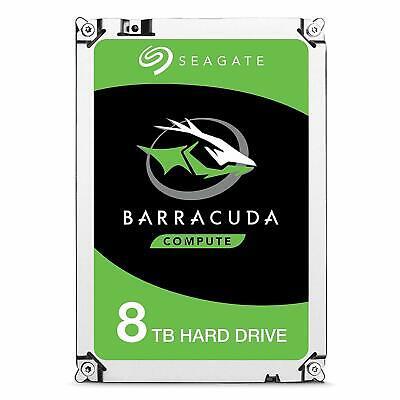 Seagate BarraCuda 8TB Festplatte 256MB Cache 3,5