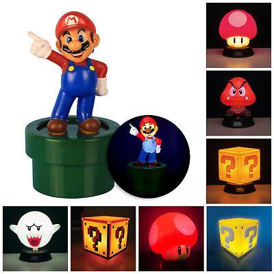 Super Mario Dekolampe SuperMario Dekoleuchte Deko Mario Lampe (Super Mario Dekorationen)