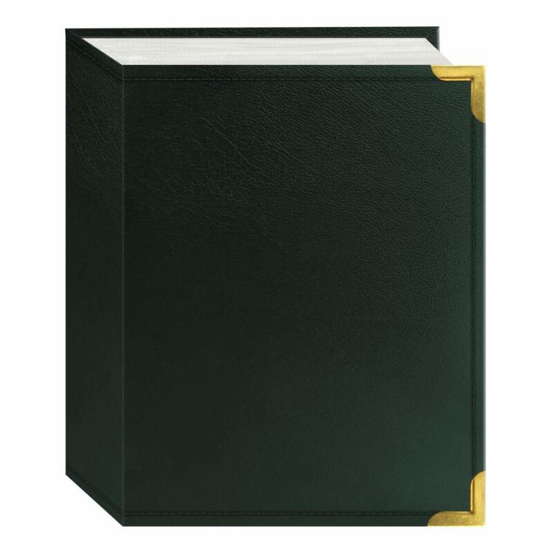 """Pioneer Mini Max Oxford Bound Photo Album 100 4"""" x 6"""" Photos, 1 Per Page Green"""