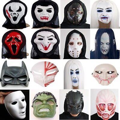 11 Neu Halloween Maske Karneval Fasching Kostüm horror Party Scream Gruselige  ()
