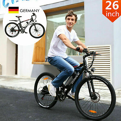 Bici Bicicleta Eléctrica 250W 36V 8AH 26inch Montañ Bicicleta Eléctrica 35km/h