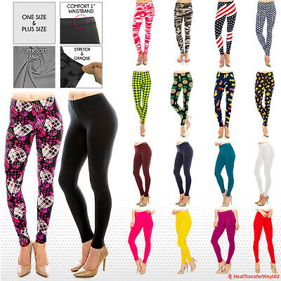 Womens Buttery Ultra Soft Premium Leggings (Patterned and Solid) *FREE SHIPPING*